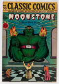 Golden Age (1938-1955):Classics Illustrated, Classic Comics #30 The Moonstone - First Edition (Gilberton, 1946)Condition: FN/VF....