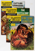 Golden Age (1938-1955):Classics Illustrated, Classic Comics #115-130 First Editions Group (Gilberton, 1954-56)Condition: Average FN-.... (Total: 16 Comic Books)