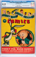 Golden Age (1938-1955):Cartoon Character, Looney Tunes and Merrie Melodies Comics #1 (Dell, 1941) CGC VG 4.0Cream to off-white pages....