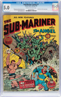 Golden Age (1938-1955):Superhero, Sub-Mariner Comics #1 (Timely, 1941) CGC VG/FN 5.0 Cream to off-white pages....