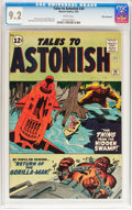Silver Age (1956-1969):Science Fiction, Tales to Astonish #30 White Mountain pedigree (Marvel, 1962) CGC NM- 9.2 White pages....