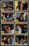 """Movie Posters:Adventure, Conspirator (MGM, 1949). Lobby Card Set of 8 (11"""" X 14"""").Propaganda film. Directed by Victor Saville. Starring ElizabethTa... (Total: 8 Items)"""