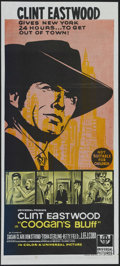 "Movie Posters:Crime, Coogan's Bluff (Universal, 1968). Australian Daybill (13"" X 30"").Crime Action. Directed by Don Siegel. Starring Clint Eastw..."