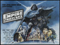 """Movie Posters:Science Fiction, The Empire Strikes Back (20th Century Fox, 1980). British Quad (30""""X 40""""). Science Fiction. Directed by Irvin Kershner. Sta..."""