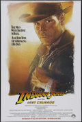 """Movie Posters:Action, Indiana Jones and the Last Crusade (Paramount, 1989). One Sheet (27"""" X 41"""") Advance. Action. Directed by Steven Spielberg. S..."""