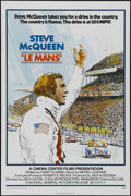 """Movie Posters:Action, Le Mans (National General, 1971). One Sheet (27"""" X 41""""). Sports Drama. Directed by Lee H. Katzin. Starring Steve McQueen, Si..."""