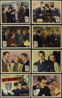 "Let 'em Have It (United Artists, 1935). Lobby Card Set of 8 (11"" X 14""). Crime. Directed by Sam Wood. Starring..."