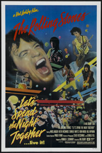 """Let's Spend the Night Together (Embassy Pictures, 1983). One Sheet (27"""" X 41""""). Musical concert. Directed by H..."""