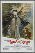 "Movie Posters:Animated, The Lord of the Rings (United Artists, 1978). One Sheet (27"" X41""). Animation. Directed by Ralph Bakshi. Starring the voice..."