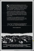 "Movie Posters:Horror, Poltergeist (MGM/UA Entertainment, 1982). One Sheet (27"" X 41"").Horror. Directed by Tobe Hooper. Starring Craig T. Nelson, ..."