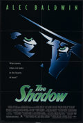 "Movie Posters:Adventure, The Shadow (Universal, 1994). One Sheet (27"" X 41""). Comic-BookSuperhero. Directed by Russell Mulcahy. Starring Alec Baldwi..."