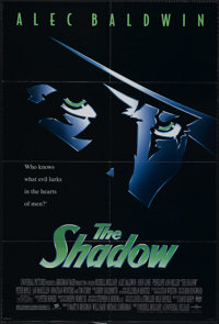 "The Shadow (Universal, 1994). One Sheet (27"" X 41""). Comic-Book Superhero. Directed by Russell Mulcahy. Starri..."