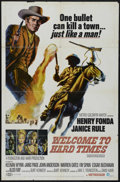 "Movie Posters:Western, Welcome to Hard Times (MGM, 1967). One Sheet (27"" X 41""). Western. Directed by Burt Kennedy. Starring Henry Fonda, Janice Ru..."