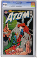 Silver Age (1956-1969):Superhero, The Atom #33 (DC, 1967) CGC VF/NM 9.0 White pages. Bug-Eyed Bandit appearance. Gil Kane and Murphy Anderson cover. Art by Ka...