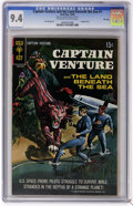 Silver Age (1956-1969):Science Fiction, Captain Venture and the Land Beneath the Sea #1 File Copy (GoldKey, 1968) CGC NM 9.4 Off-white to white pages. Painted cove...