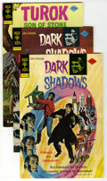 Bronze Age (1970-1979):Horror, Dark Shadows Group Plus (Gold Key, 1974-75) Condition: AverageVF/NM. Includes Dark Shadows #27 (2 copies) and #32 (2); ...(Total: 5 Comic Books)