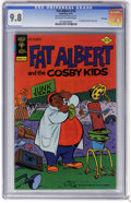 Bronze Age (1970-1979):Cartoon Character, Fat Albert #18 File Copy (Gold Key, 1977) CGC NM/MT 9.8 Off-whiteto white pages. Overstreet 2006 NM- 9.2 value = $18. CGC c...