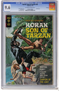 Bronze Age (1970-1979):Miscellaneous, Korak, Son of Tarzan #36 File Copy (Gold Key, 1970) CGC NM+ 9.6Off-white to white pages. George Wilson painted cover. Dan S...