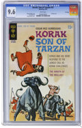 Bronze Age (1970-1979):Miscellaneous, Korak, Son of Tarzan #37 File Copy (Gold Key, 1970) CGC NM+ 9.6White pages. George Wilson painted cover. Dan Spiegle art. T...
