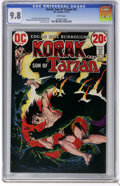 Bronze Age (1970-1979):Miscellaneous, Korak, Son of Tarzan #51 (DC, 1973) CGC NM/MT 9.8 White pages. JoeKubert cover. Mike Kaluta and Frank Thorne art. Overstree...