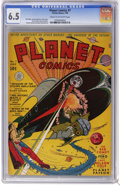 Golden Age (1938-1955):Science Fiction, Planet Comics #7 (Fiction House, 1940) CGC FN+ 6.5 Cream tooff-white pages. Art by Alex Blum, Herman Bolstein, Nick Cardy, ...