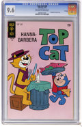 Bronze Age (1970-1979):Cartoon Character, Top Cat #30 File Copy (Dell/Gold Key, 1970) CGC NM+ 9.6 Off-whiteto white pages. Snagglepuss backup story. Overstreet 2006 ...