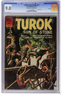 Silver Age (1956-1969):Adventure, Turok #29 File Copy (Dell, 1962) CGC VF/NM 9.0 Off-white to white pages . Painted cover. Overstreet 2006 VF/NM 9.0 value = $...
