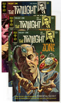 Silver Age (1956-1969):Horror, Twilight Zone Group (Gold Key, 1967-68) Condition: Average VF/NM.Issues #22 (2 copies) and #24 (4). Approximate Overstreet ...(Total: 6 Comic Books)