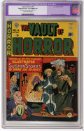 Golden Age (1938-1955):Horror, Vault of Horror #14 (EC, 1950) CGC Apparent VG 4.0 Slight (A) Creamto off-white pages. Eerie voodoo cover by Johnny Craig. ...