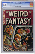 Golden Age (1938-1955):Science Fiction, Weird Fantasy #16 (EC, 1952) CGC VG+ 4.5 Cream to off-white pages.Al Feldstein cover and art. Jack Kamen, Joe Orlando, and ...