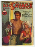 Pulps:Miscellaneous, Doc Savage (Pulp) V2#4 (Street and Smith, 1933) Condition: GD. Cover art by Walter Baumhofer. Cover features a platinum blon...