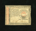 Colonial Notes:Continental Congress Issues, Continental Currency January 14, 1779 $65 Very Fine. A small edgetear is noticed at top....