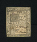 Colonial Notes:Delaware, Delaware January 1, 1776 20s Choice About New. There is a singlecenterfold which keeps this colonial from the gem grade. T...
