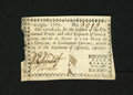 Colonial Notes:Georgia, Georgia September 10, 1777 $1/2 Extremely Fine. This is a wonderfulexample of a very scarce issue and the half dollar denom...