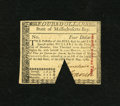 Colonial Notes:Massachusetts, Massachusetts May 5, 1780 $4 Choice New, COC. This note possesses atrinagular cut-out-cancel....