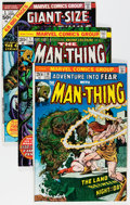 Bronze Age (1970-1979):Horror, Man-Thing Group (Marvel, 1972-73) Condition: Average FN.... (Total:38 Comic Books)