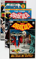 Bronze Age (1970-1979):Horror, Tomb of Dracula #1-70 Complete Series Group (Marvel, 1972-79)Condition: Average FN.... (Total: 71 Comic Books)