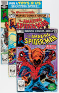 Modern Age (1980-Present):Superhero, The Amazing Spider-Man Group (Marvel, 1980-95) Condition: AverageVF/NM.... (Total: 56 Comic Books)
