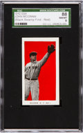 """Baseball Cards:Singles (Pre-1930), 1910 E98 """"Set of 30"""" John McGraw, Red """"Black Swamp Find"""" SGC 88NM/MT 8 - One of Two NM/MT Examples!..."""