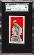 "Baseball Cards:Singles (Pre-1930), 1910 E98 ""Set of 30"" Frank Chance, Red ""Black Swamp Find"" SGC 96Mint 9 - One of Two Mint Examples! ..."