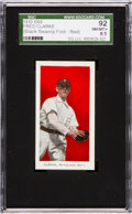 "Baseball Cards:Singles (Pre-1930), 1910 E98 ""Set of 30"" Fred Clarke, Red ""Black Swamp Find"" SGC 92NM/MT+ 8.5 - Pop Two, Only One Higher!..."
