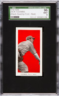 "Baseball Cards:Singles (Pre-1930), 1910 E98 ""Set of 30"" Jack Coombs, Red ""Black Swamp Find"" SGC 96Mint 9 - One of Two Mint Examples!..."