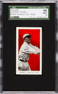 "Baseball Cards:Singles (Pre-1930), 1910 E98 ""Set of 30"" Johnny Kling, Red ""Black Swamp Find"" SGC 96Mint 9 - One of Three Mint Examples!..."