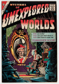 Silver Age (1956-1969):Horror, Mysteries of Unexplored Worlds #4 (Charlton, 1957) Condition:FN....