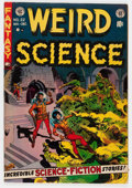 Golden Age (1938-1955):Science Fiction, Weird Science #22 (EC, 1953) Condition: VG+....
