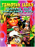 Books:Literature 1900-up, Timothy Leary. SIGNED. Surfing the Conscious Nets: A GraphicNovel by Huck Getty Mellon Von Schlebrugge. Last Gasp, ...