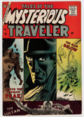 Silver Age (1956-1969):Horror, Tales of the Mysterious Traveler #5 (Charlton, 1957) Condition:FN-....