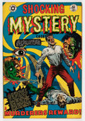 Golden Age (1938-1955):Horror, Shocking Mystery Cases #51 (Star Publications, 1952) Condition:VF-....