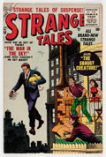 Golden Age (1938-1955):Horror, Strange Tales #38 (Atlas, 1955) Condition: FN/VF....