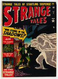 Golden Age (1938-1955):Horror, Strange Tales #7 (Atlas, 1952) Condition: FN-....